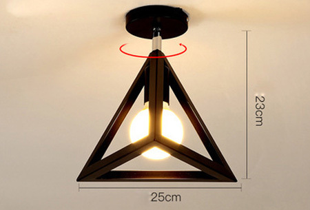 Industri�le hanglampen #10+ gratis lichtbron/bulb