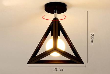 Industriële hanglampen | Voor een moderne look in iedere kamer - met gratis lichtbron! #10