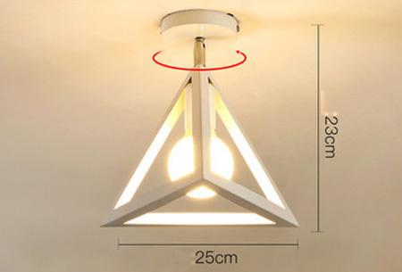 Industriële hanglampen | Voor een moderne look in iedere kamer - met gratis lichtbron! #11