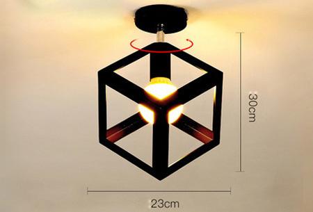 Industri�le hanglampen #12+ gratis lichron/bulb