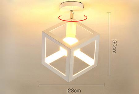 Industriële hanglampen | Voor een moderne look in iedere kamer - met gratis lichtbron! #13