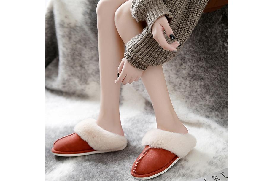 Su�de pantoffels Maat 40/41 - Rood - Dames