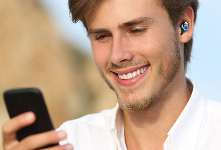 Draadloze in-ear oordopjes | Inclusief handige powerbank case!