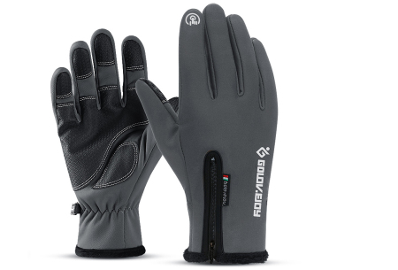 Waterdichte handschoenen | Voor heerlijk warme handen tijdens winterse activiteiten! Donkergrijs
