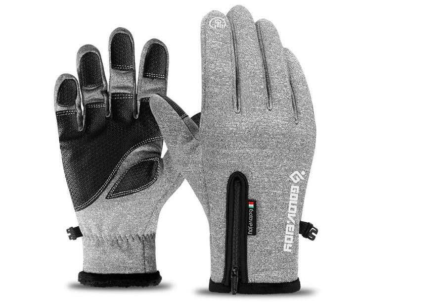 Waterdichte handschoenen Maat 2XL - Lichtgrijs