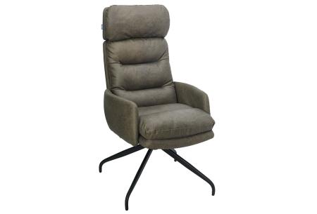 Logan relaxstoel   Gun jezelf ontspanning met deze heerlijke loungestoel  Groen