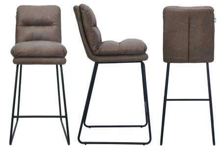 Feel Furniture barkrukken   Comfortabele en moderne krukken voor thuis, op kantoor of in een kroeg! Bruin