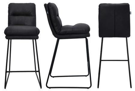 Feel Furniture barkrukken   Comfortabele en moderne krukken voor thuis, op kantoor of in een kroeg! Zwart