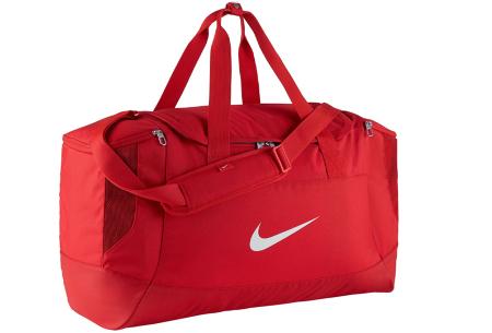 Nike sporttassen | Stevige (weekend)tassen van topkwaliteit! Rood