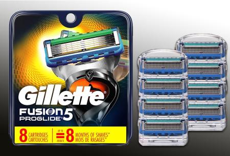 Gillette Fusion 5 scheermesjes | Keuze uit Fusion 5 of Fusion 5 Proglide - 8-pack   Fusion 5 Proglide