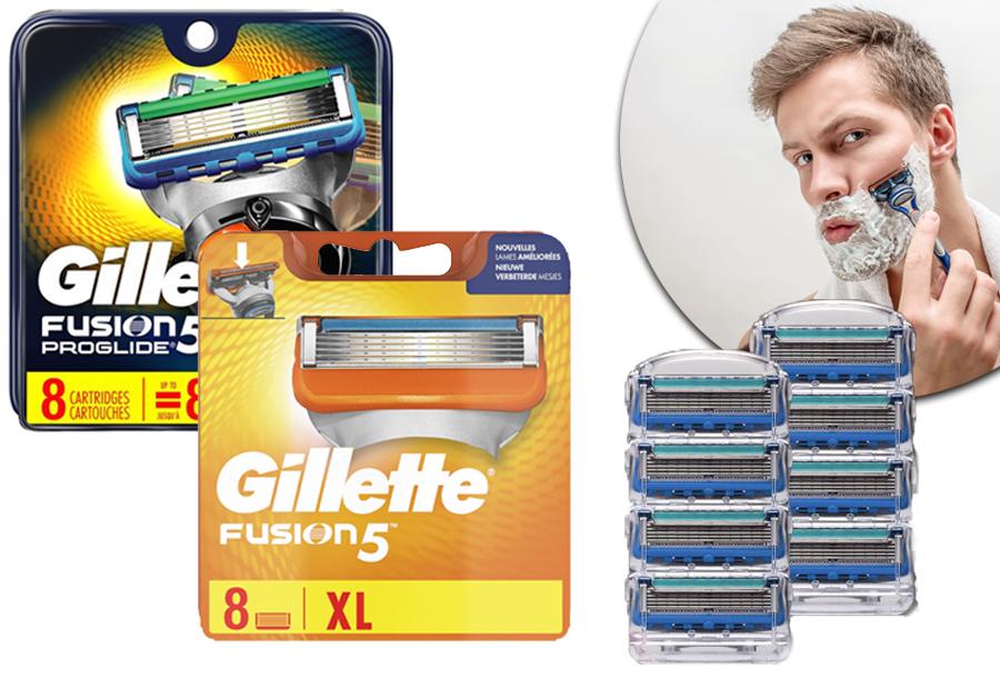 43% korting - Gillette Fusion 5 scheermesjes