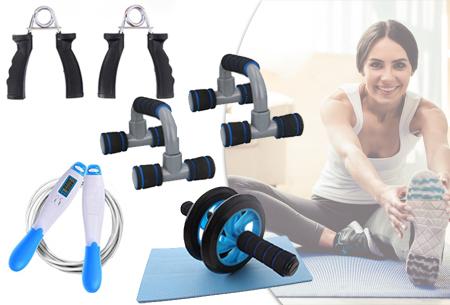 Sportattributen | Handige tools om thuis mee te sporten - ook als set verkrijgbaar!