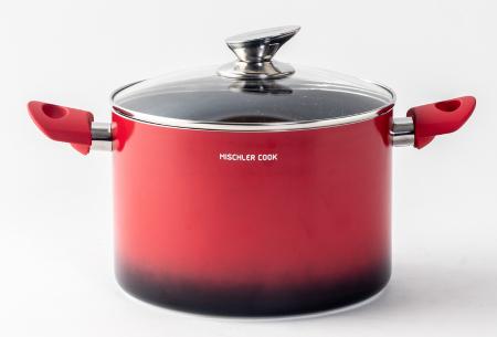 Mischler Cook 6-delige pannenset | De belangrijkste basis voor het koken van heerlijk eten!