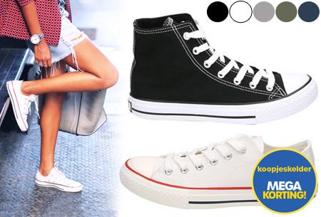 Classic sneakers voor hem en haar | Nu slechts 4,99 per paar! OP=OP