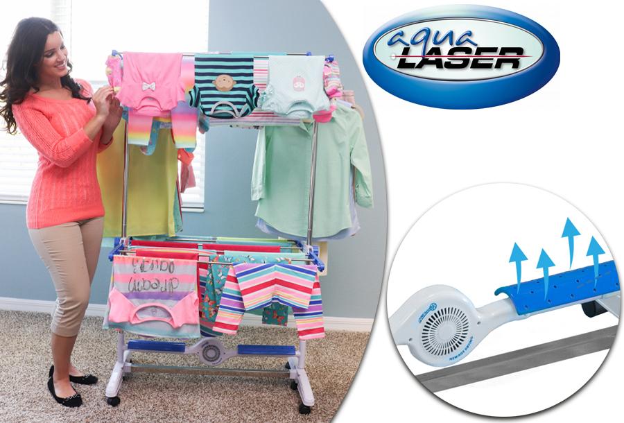 Dagaanbieding - Elektrisch droogrek van Aqua Laser nu in de sale dagelijkse koopjes