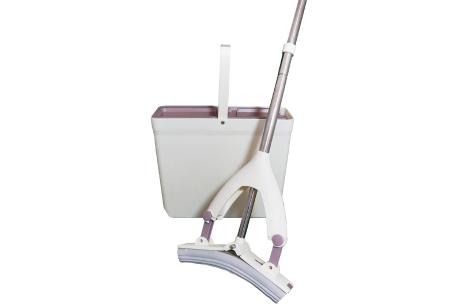 Aqua Laser Miracle Mop | Inclusief 3-in-1 dweilemmer!