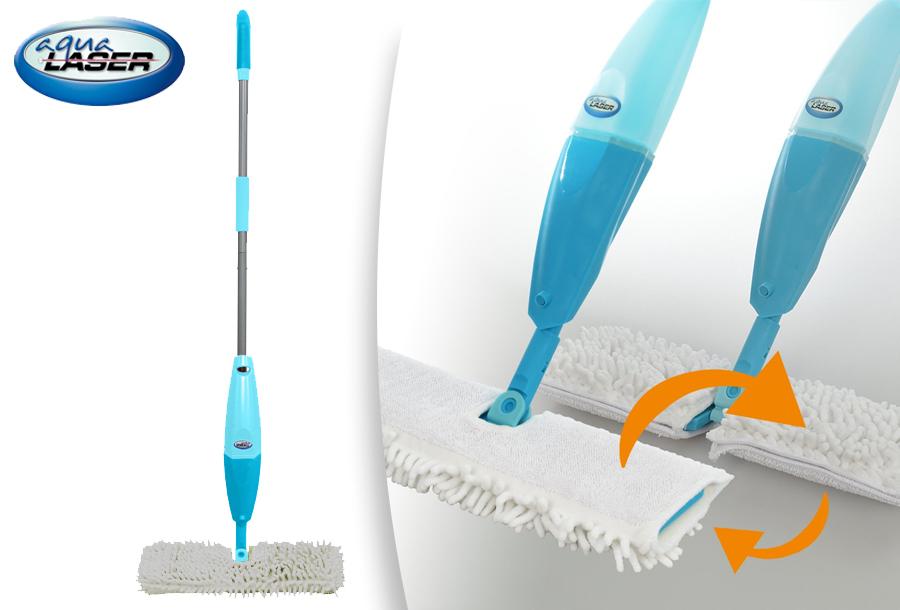 Dagaanbieding - Aqua Laser Flipflop Spray Mop in de aanbieding dagelijkse koopjes