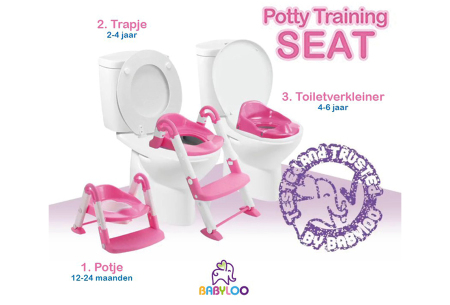 3-in-1 plaspotje van Babyloo | Leert jouw kind stap voor stap zindelijk worden!