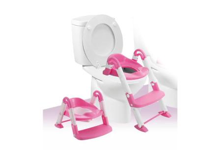 3-in-1 plaspotje van Babyloo | Leert jouw kind stap voor stap zindelijk worden! Roze