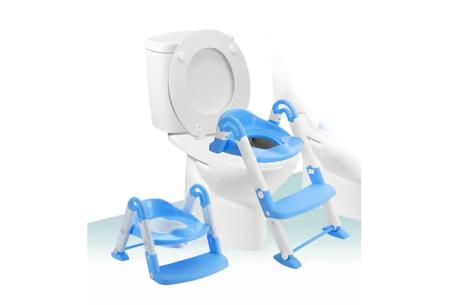 3-in-1 plaspotje van Babyloo | Leert jouw kind stap voor stap zindelijk worden! Blauw
