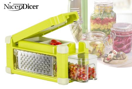 Nicer Dicer Magic Cube   Snijdt eenvoudig en snel al jouw groenten en fruit!