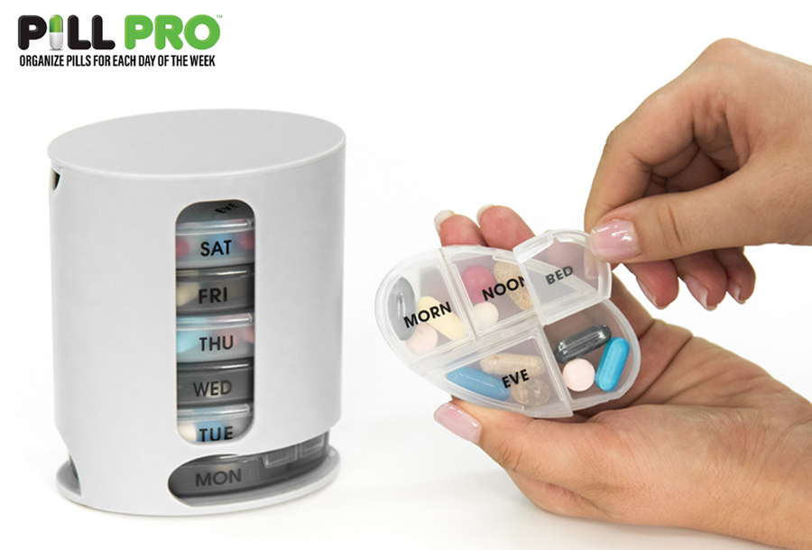 Pill Pro pillendoosje in de aanbieding
