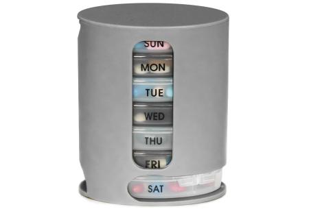 Pill Pro pillendoosje | Orden jouw pillen op dag én dagdeel!