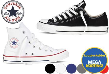 Converse All Stars outlet - hoog of laag model | MEGA UITVERKOOP, OP=OP!