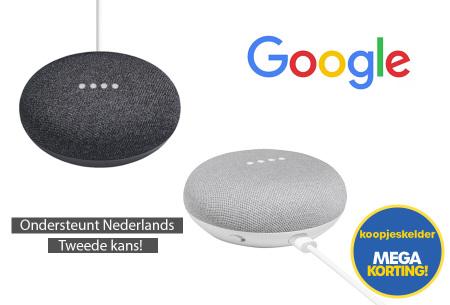 Google Assistant Smart Home speaker mini - Tweede kans, want weggooien is zonde!