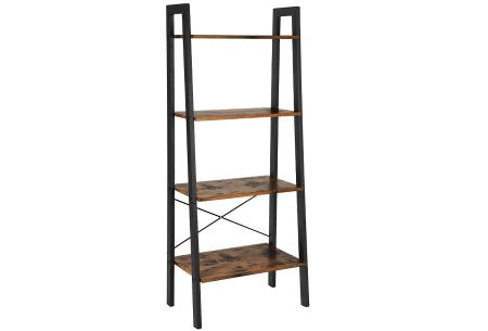 Industriële kasten | Kies uit een boekenkast, wandkapstok of garderoberek Boekenkast