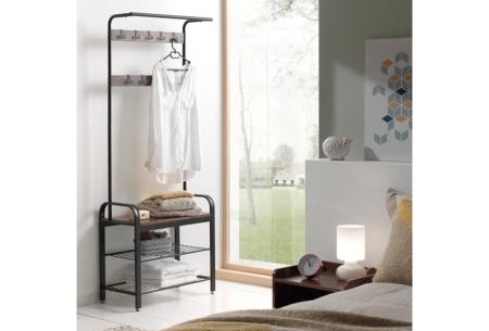 Industriële kasten | Kies uit een boekenkast, wandkapstok of garderoberek