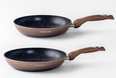 10-delige pannenset van Mischler Cook | In één set alle pannen die jij nodig hebt!