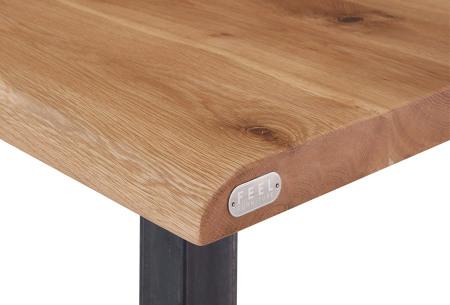 Feel Furniture bartafel of barkrukken | Gemaakt van eikenhout en staal - Modern & industrieel