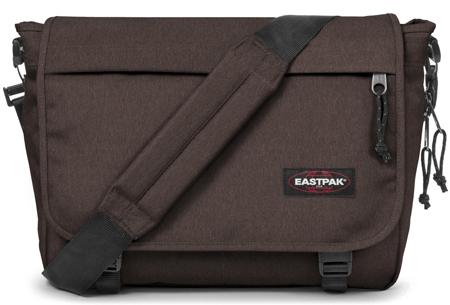 Eastpak schoudertassen | Compacte tas met plek voor een laptop en (school)boeken Crafty Brown