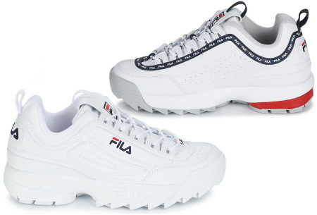 Fila Disruptor dames sneakers nu in de aanbieding