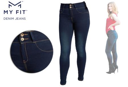 Denim Look legging | Een jeans en legging in één - Dé broek die altijd past!