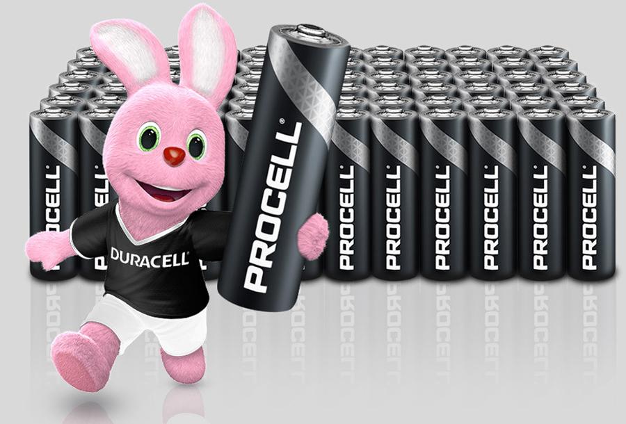 72-pack Duracell Procell batterijen met korting
