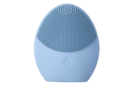 Elektrische gezichtsreinigingsborstel   Verbetert, verzorgt en reinigt de huid!  Blauw