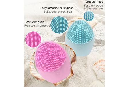 Elektrische gezichtsreinigingsborstel   Verbetert, verzorgt en reinigt de huid!