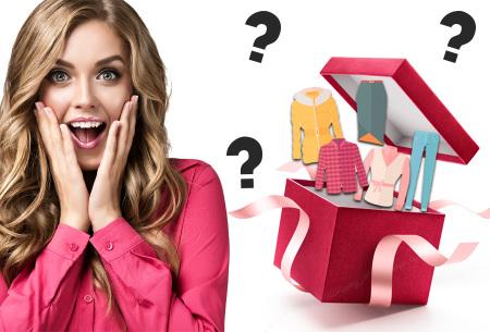 Mystery box - kleding   Box vol met dameskleding - Laat jezelf verrassen!