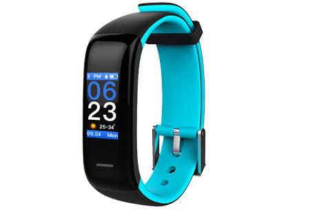 Activity tracker Bluetooth 4.0 Blauw