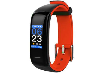 Activity tracker Bluetooth 4.0 Oranje