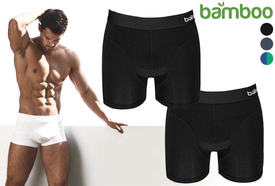 Bamboo boxershorts in de aanbieding