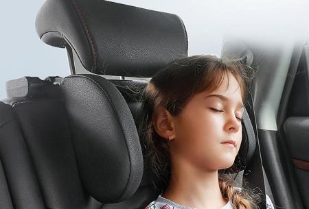 Verstelbare auto hoofdsteun   Maakt je autorit extra comfortabel!