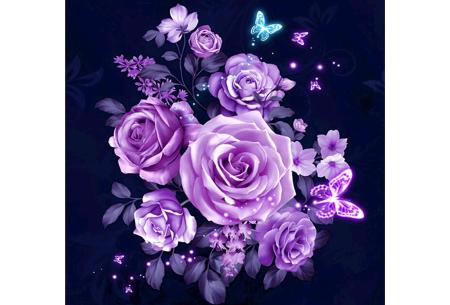 Diamond painting bloemen | Creëer zelf de allermooiste bloemen schilderijen #6