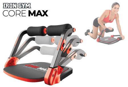 Core Max fitnesstoestel | Train al je spieren in een workout van slechts 8 minuten