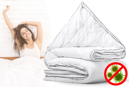 Anti-bacterieel 4 seizoenen dekbed van Sleeptime | Voor een comfortabele en extra hygiënische nachtrust