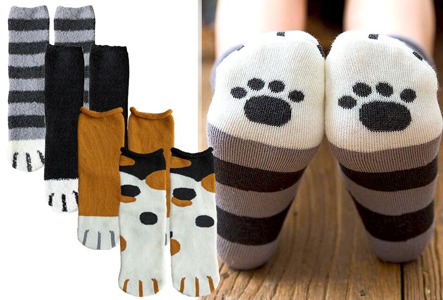 Katten sokken in de sale