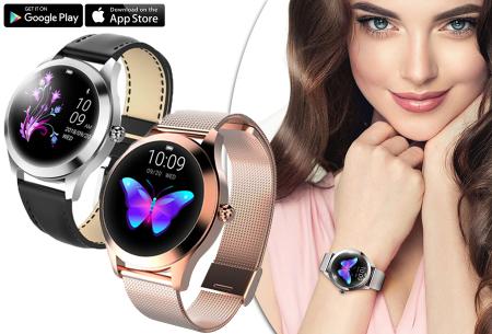 Luxe smartwatch voor vrouwen   Stijlvolle accessoire met mesh of PU lederen band