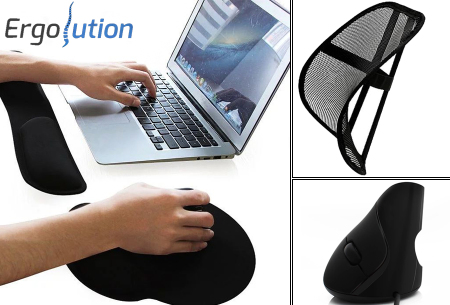 Ergolution ergonomische tools   Maakt kantoor- en thuiswerk een stuk aangenamer!